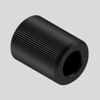 1/2 UNF or 1/2 UNEF extended barrel thread protector.