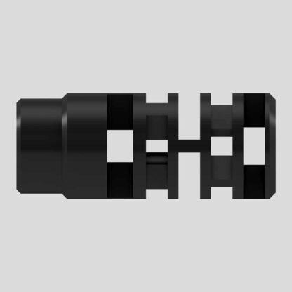 Labyrinth muzzle brake