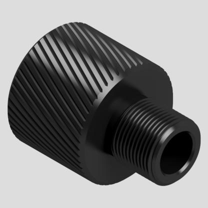 Adaptateur silencieux M24x1.5 vers filetage au choix