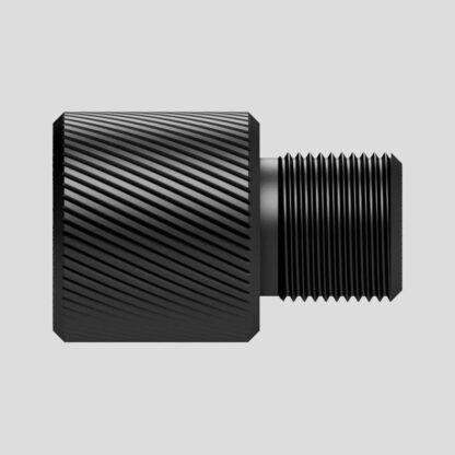 Adaptateur silencieux pour réplique d'airsoft filetage 14 mm antihoraire